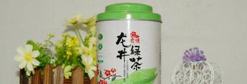 杭州龙井铁盒包装