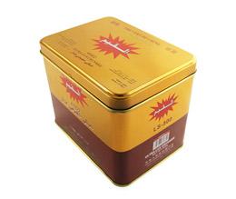 方形茶叶铁盒|马口铁红茶罐子包装