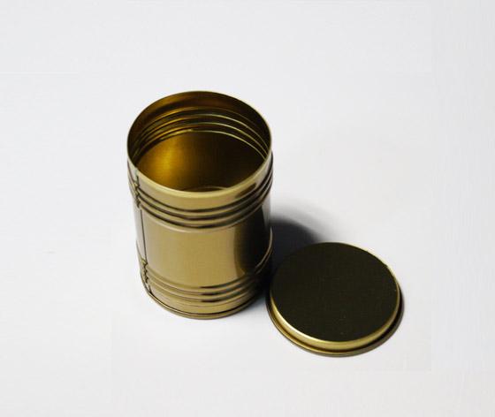 横纹蜡烛罐|蜡烛包装铁盒|蜡烛马口铁罐