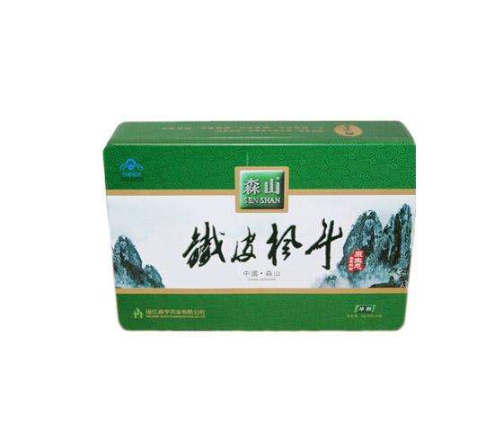 森山铁皮枫斗铁盒|马口铁保健品包装盒