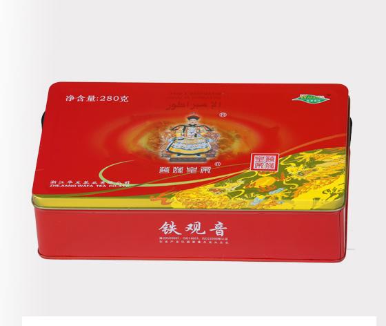 铁观音茶叶盒 乌龙茶铁盒包装 茶铁盒