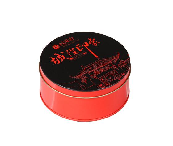 单只装月饼铁盒|月饼小铁盒生产|月饼马口铁盒定制