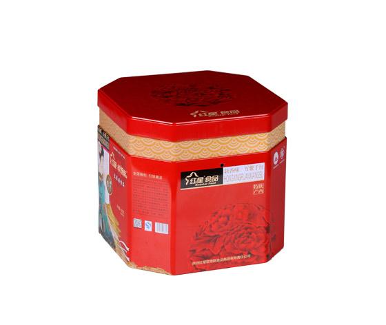 专业生产软香酥八角罐|大号食品铁皮罐子生产