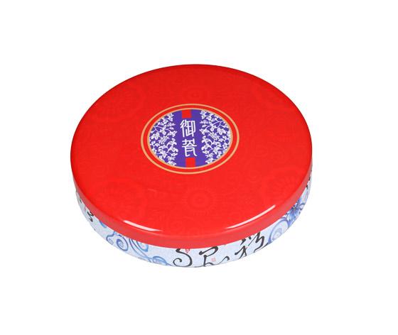 五仁月饼铁盒|圆形月饼铁罐|国内月饼铁盒生产商家