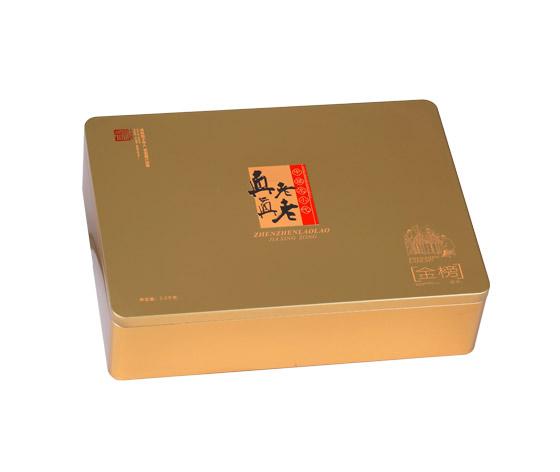 真真老老粽子包装铁盒|粽子包装礼盒
