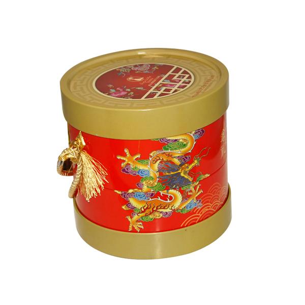 圆桶月饼铁盒|中秋月饼铁盒包装|月饼铁盒生产