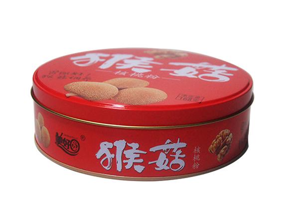 核桃粉铁盒|马口铁饼干包装盒
