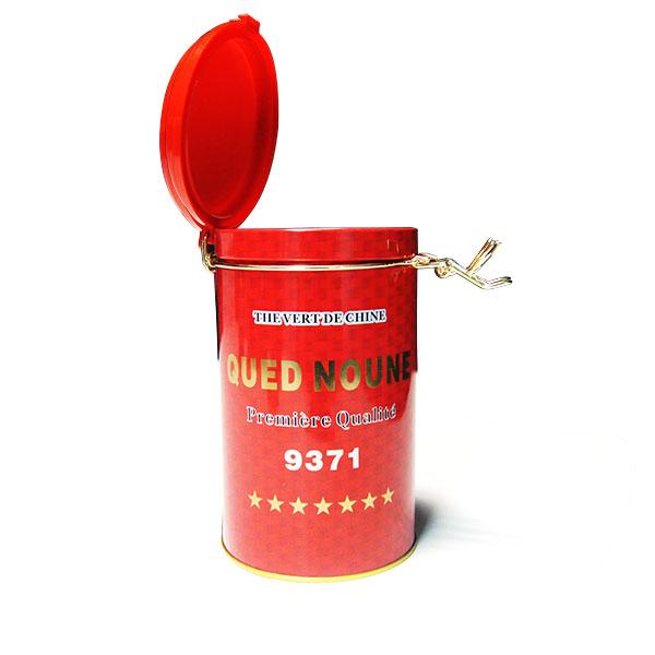 圆柱形茶叶铁盒|订做茶叶金属罐工厂
