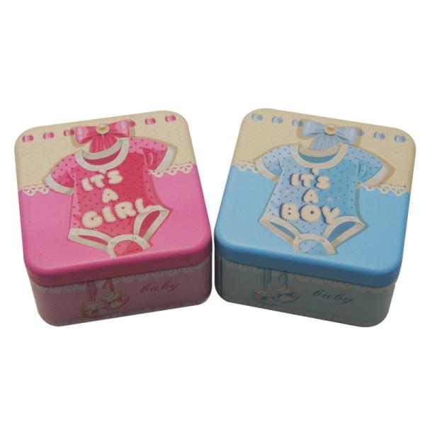 宝宝周岁铁盒|宝宝铁盒定制|铁罐厂家