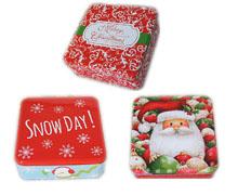 圣诞铁盒|马口套罐|铁盒定制