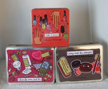 外贸铁盒/化妆品铁盒/香水铁盒/指甲油收纳铁盒/巧克力铁盒/铁盒包装/