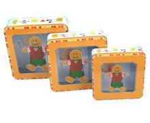 圣诞铁盒/圣诞套罐/外贸铁罐