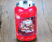 可乐罐型马口铁罐存钱罐