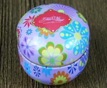 小陀螺喜糖铁盒(紫色花朵花色)