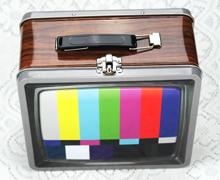 电视机手拎相机马口铁铁盒