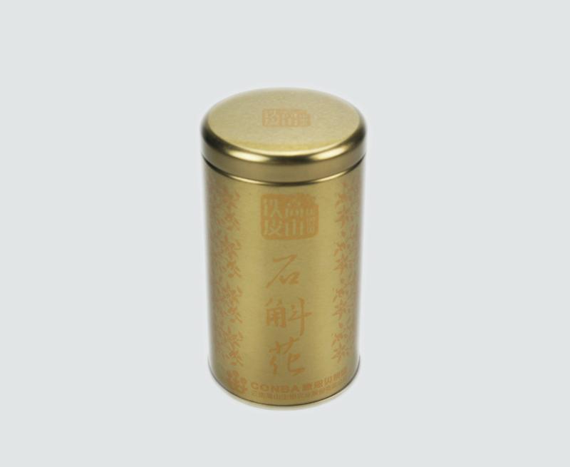 康恩贝铁皮石斛保健品马口铁罐包装