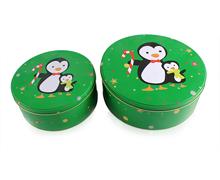 圣诞铁盒/圣诞套罐/礼品铁盒