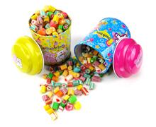 宝宝满月周岁生辰铁罐/糖果铁盒生产